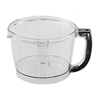 Cuisinart FP-14BKWBT 14-Cup Workbowl (Black) Fits Tritan BPA Free Units Only